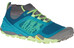 Merrell W's All Out Terra Trail Shoes LIGHT GREEN